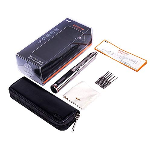 XINXI-YW Durable Parámetros de configuración del Destornillador eléctrico inalámbrico de precisión de Destornillador de Control de Movimiento (como torsión, torsión, etc.)