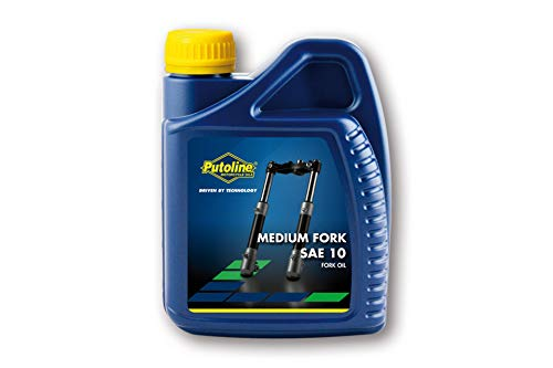 Putoline - Aceite para Horquillas (tamaño Mediano, SAE 10, 500 ml)