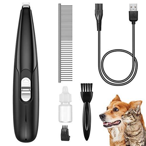 Brifit Tosatrice per Cani, Tosatrice elettrica Professionale USB Ricarica Rapida, Tosatrice per Animali Domestici Ricaricabile Senza Fili a Basso Rumore, Tosatrice per Zampe di Gatto
