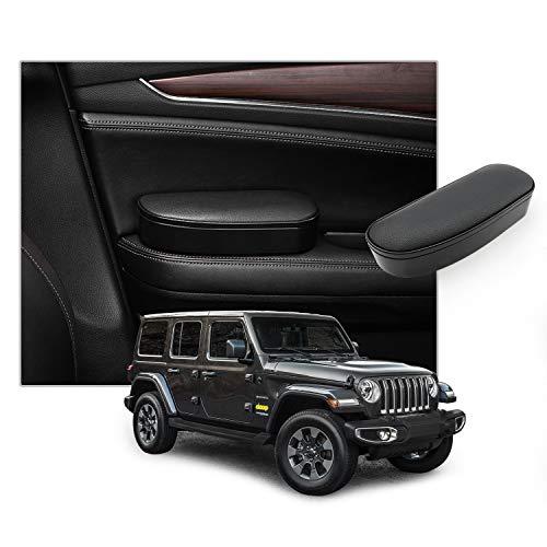 CDEFG Car Door Elbow Rest Side Door Arm Rest Storage Case for 2018 2019 2020 Wrangler JL/ 2020 Gladiator/ 2014-2019 Grand Cherokee, Adjustable Height Arm Rest Comfort