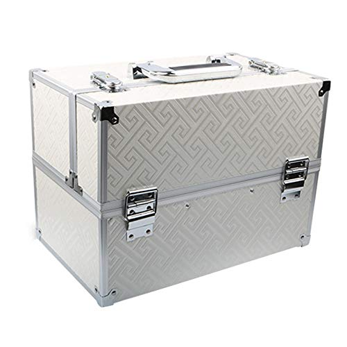 Draagbare gereedschapskist van aluminiumlegering, multifunctioneel gereedschap met grote capaciteit.
