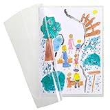 3L Kids Es 110951 – Bolsa de 10 fundas de Plastificación en frío, manual – A4 – Transparentes para Laminar sin máquina – 10 unidades