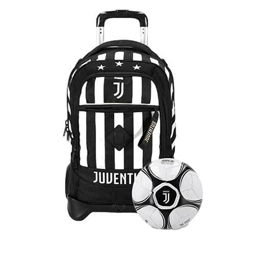 Seven Trolley zaino SCUOLA ufficiale JUVENTUS FC 2021/2022 + pallone OMAGGIO
