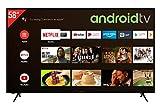 Telefunken XU58AJ600 55 Zoll Fernseher / Android TV (4K Ultra HD, HDR, Triple-Tuner, Smart TV, Bluetooth) [Modelljahr 2021]