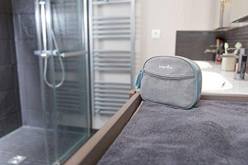 Babymoov Baby-Kulturtasche – Pflege-Set für Babys 9-teilig, mit digitalem Fieberthermometer, Nasensauger - 2