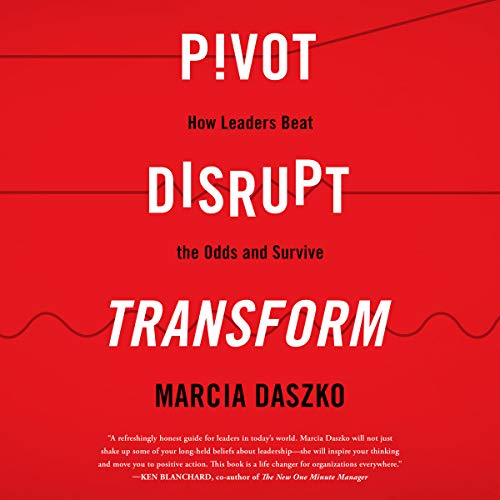 『Pivot, Disrupt, Transform』のカバーアート