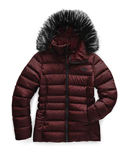 The North Face Women's Gotham Jacket II, Deep Garnet Red, Small