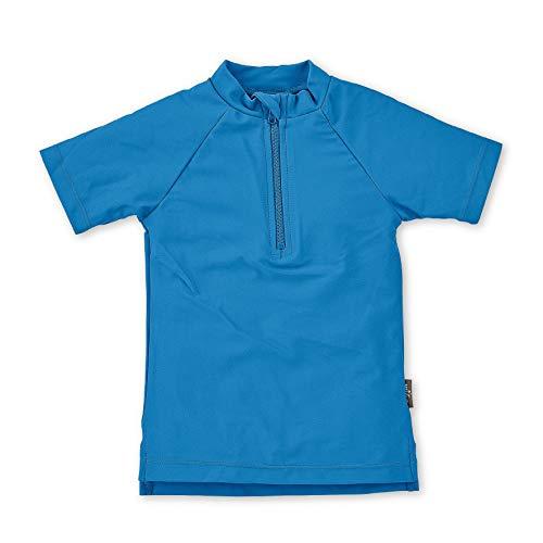 Sterntaler Kinder Kurzarm-Schwimmshirt, UV-Schutz 50+, Alter: 4 - 6 Jahre, Größe: 110/116, Farbe: Blau