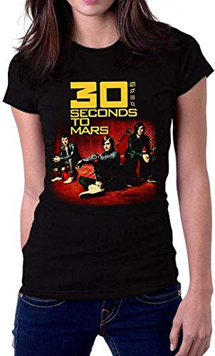 30 Thirty Seconds to Mars 30Stm Women's T Shirt,T-Shirts & Hemden(Medium)
