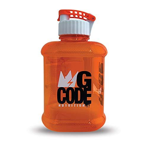 The GCode Juggernaut 64 oz Gym Water jug