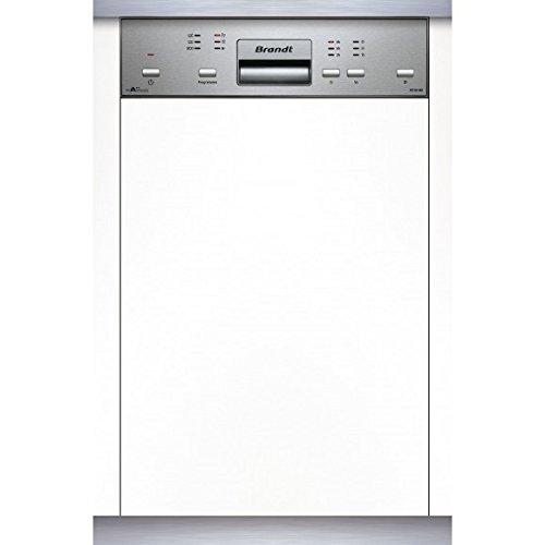 BRANDT - Lave vaisselle encastrable 45cm BRANDT VS 1010 X - VS 1010 X