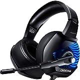 ONIKUMA Cascos Gaming, Cascos Ps4 con Microfono...