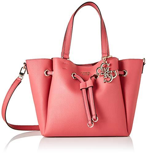 Guess Digital Drawstring Bag, Bags Hobo Donna, Geranium, One Size