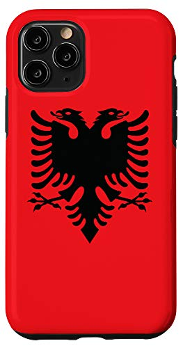 iPhone 11 Pro Albanian Flag Red And Black Albania Eagle Case