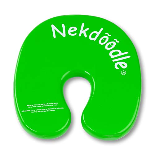 Nekdoodle Swimming Pool Float For Aqua Aerobics & Fitness - Water Training & Exercises - Fun & Recreational Pool Toy - Fits Adults and Kids - Lime Green