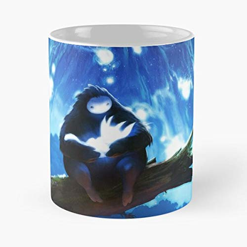 TaftClothing Blind Forest Cool Pc and Happy Video Game Cute Ori The Best 11 oz Kaffeebecher - Nespresso Tassen Kaffee Motive