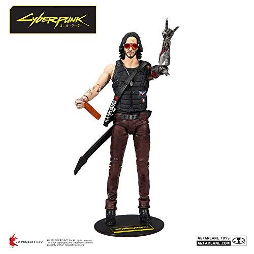 McFarlane Toys Cyberpunk 2077 Action Figure Johnny 18 cm Figures