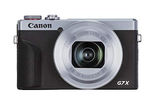 Canon PowerShot G7 X Mark III Argento (20,1 MP, pieghevole 7,5 cm)
