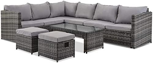 Xkun Silla de mesa de jardín, de aluminio fundido europeo, para jardín, jardín, jardín, jardín, jardín, etc