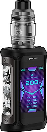 Geekvape Aegis X Zeus Kit 200W Vape Mod alimentado por batería dual Fit 510 Thread Zeus Subohm Vape Atomizer para Subohm Vaping