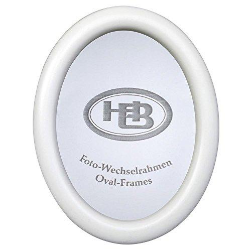 Effect Bilderrahmen Effect Profil 200 oval 13x18 Holz weiß O200,1318,05