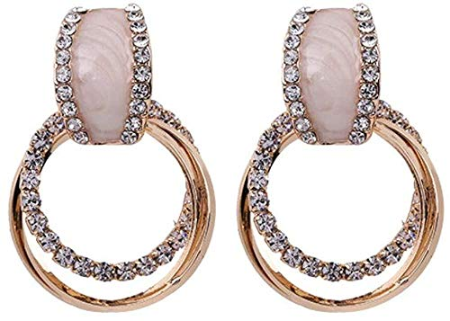Earring All-match earrings are exquisite fashion popular classic female temperament hoop earrings exquisite fashion