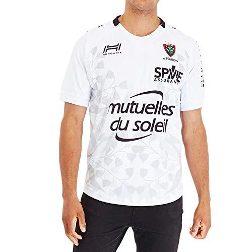 JUNBABY Toulon Camiseta De Rugby, Cancha De Casa Camisa De Rugby, Camiseta De FúTbol Hombre