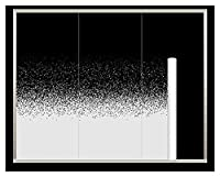 カーフィルム 152×8mホワイトドットグラデーションシングルフィルムの自己接着窓ホイルのティントホームセミプライバシーガラスステッカーホテルの装飾 遮光 (Color Name : JBXD-02, Size : 1.52x8m)