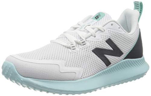 New Balance Ryval Run, Zapatillas para Correr Mujer, Blanco (White/Light Turquoise), 36.5 EU