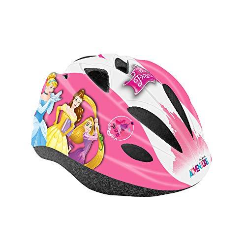 Disney Princess, Casco da Ciclismo Bambina, Rosa, S (52-56cm)