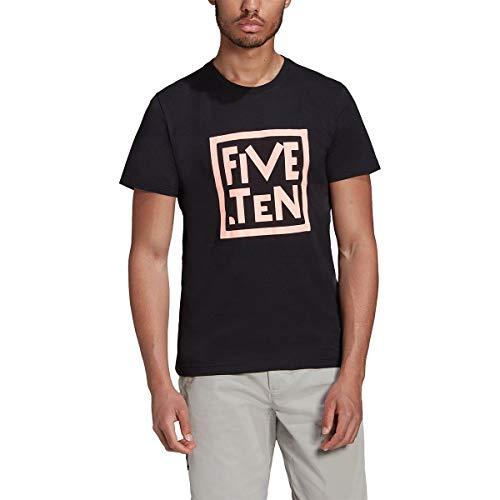 adidas 5.10 GFX tee Camiseta, Hombre, Negro/Nadecl, XL