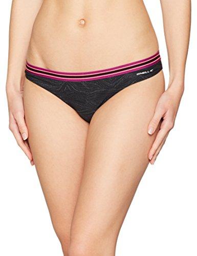 O'Neill Damen Active Cheeky Bottom Sport Bikini, Black AOP, 38