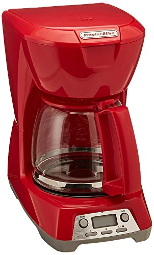 Cafetera Roja  marca Proctor Silex