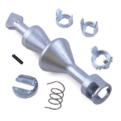 CITALL Trousse à outils pour réparation de cylindre de serrure de porte, 7pcs