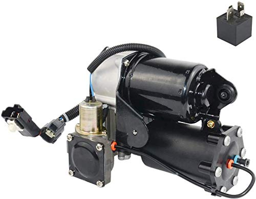Part# LR023964 Air Suspension Compressor Pump Fits For Land Rover Range Rover LR3 LR4 For 6 Plugs Hitachi System