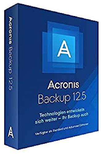 Acronis Backup 12.5 Standard Windows Server Essentials