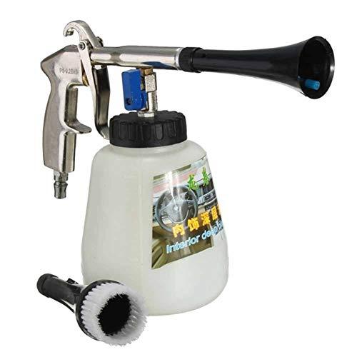 Aire Pulse Limpiador con Cepillo Interior Lavado Alta Presión Accionamiento Neumático Limpiador Pulverizador Lavadora Boquilla Pulverizador para el Auto Moto