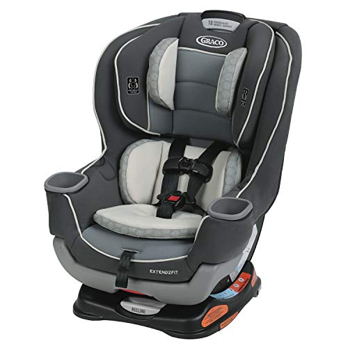 Graco Extend2Fit Convertible Car Seat | Ride Rear Facing Longer with Extend2Fit, Davis
