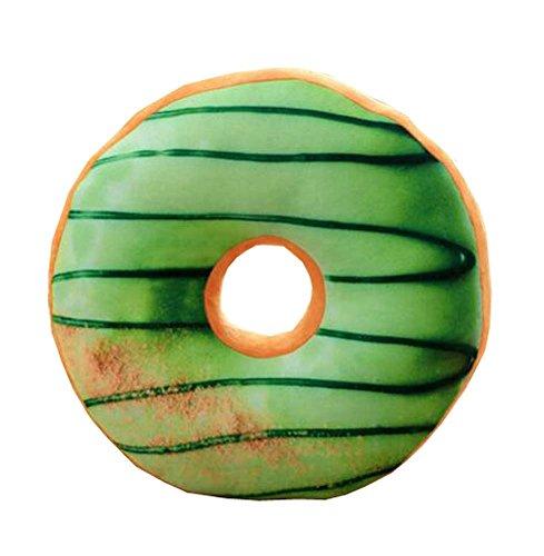 Black Temptation Kreatives rundes Krapfen-Kissen | Soft Donut Kissen für Dekoration / Kissen - A3