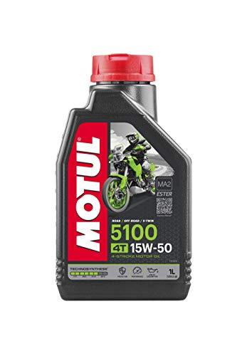 Motul 104080 5100 4T, 15 W-50, 1 L