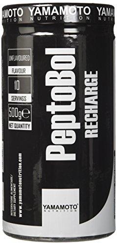 Yamamoto Nutrition PeptoBol RECHARGE integratore alimentare indicato per sportivi che hanno svolto attività fisica intensa e prolungata gusto Neutro 500 g