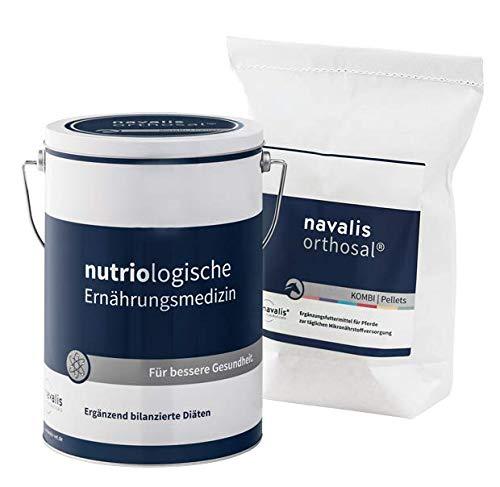 navalis orthosal Kombi Horse - Ergänzungsfuttermittel für Pferde, Option:2500 g Nachfüllpack