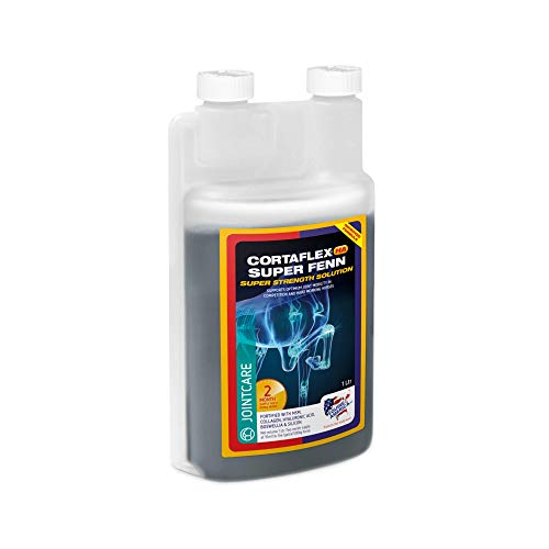Equine America UK Cortaflex HA Super Fenn Solution | Premium Horse Joint Care Supplement | Supports Optimum Joint Mobility & Recovery | 1 Litre