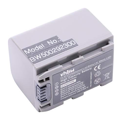 BATERÍA LI-Ion Compatible con Sony DCR-DVD92, DVD92E etc. sustituye NP-FP30 NP-FP50 NP-FP51 NP-FP60 NP-FP70 NP-FP71 NP-FP90 NP-FP91