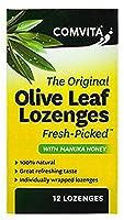 [COMVITA] コンビタ オリーブ 葉エキス のど飴 マヌカハニー 入り (Olive Leaf Extract Lozenges With Manuka Honey) 12粒 [海外直送品]