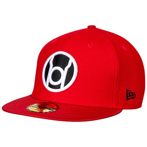 New Era Red Lantern Symbol Armor 59Fifty Fitted Hat 7 5/8 Fitted