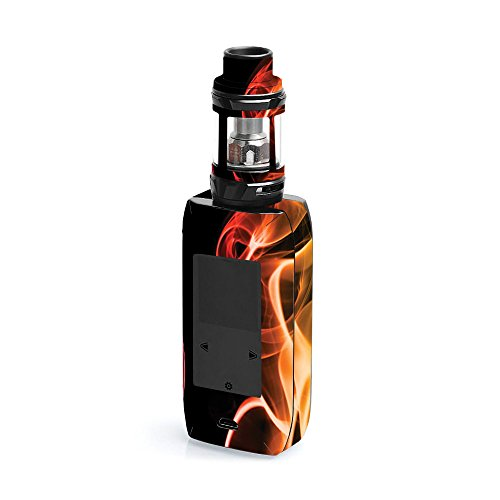 MightySkins Skin Compatible with Vaporesso Revenger X - Bright Smoke | Protective, Durable, and Unique Vinyl Decal wrap Cover | Easy to Apply, Remove, and Change Styles | Made in The USA