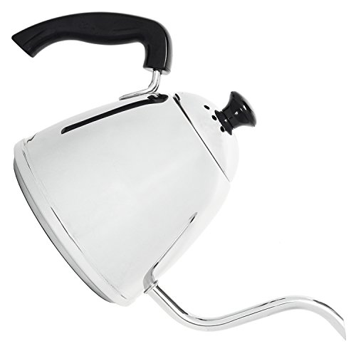 Steel Coffee Pour-Over Kettle