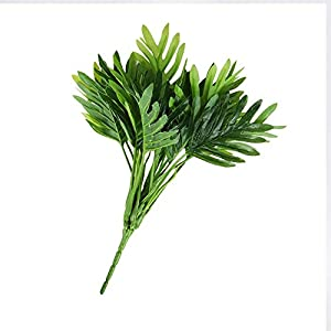 Artificial and Dried Flower Artificial Plants Green Turtle Leaves Garden Home Decor Fake Bouquet Summer Hawaii Mexican House Decoration Artificial Plant – ( Color: 1pcs )