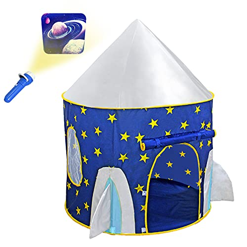 Yoobe Rocket Ship Play Tent -...